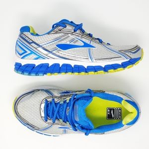 Brooks Adrenaline GTS 15 Running Shoes White Lime